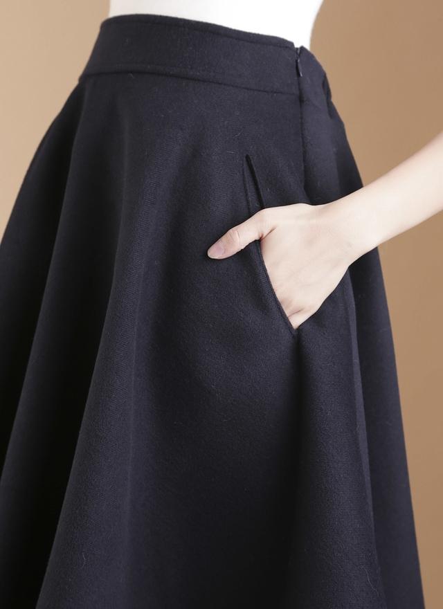 S0272 厚質挺度口袋傘裙