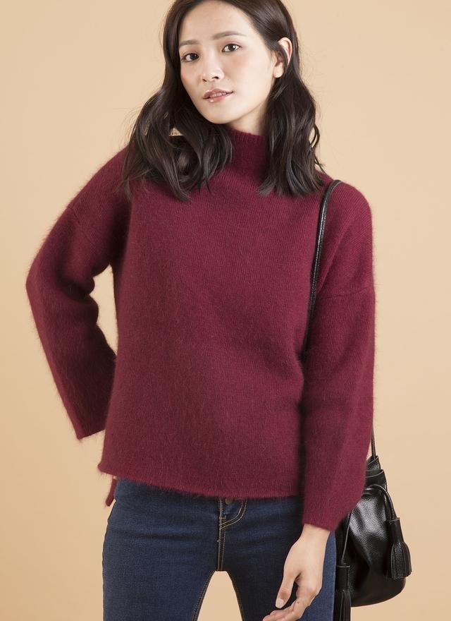 T0371 安哥拉羊毛層次毛衣