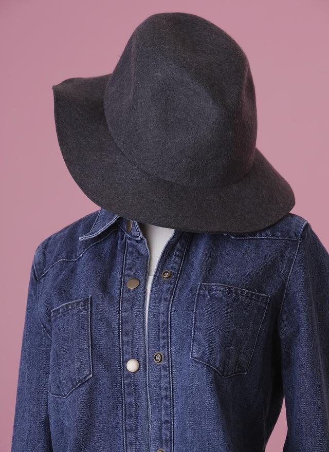 A0105 優雅毛呢紳士帽