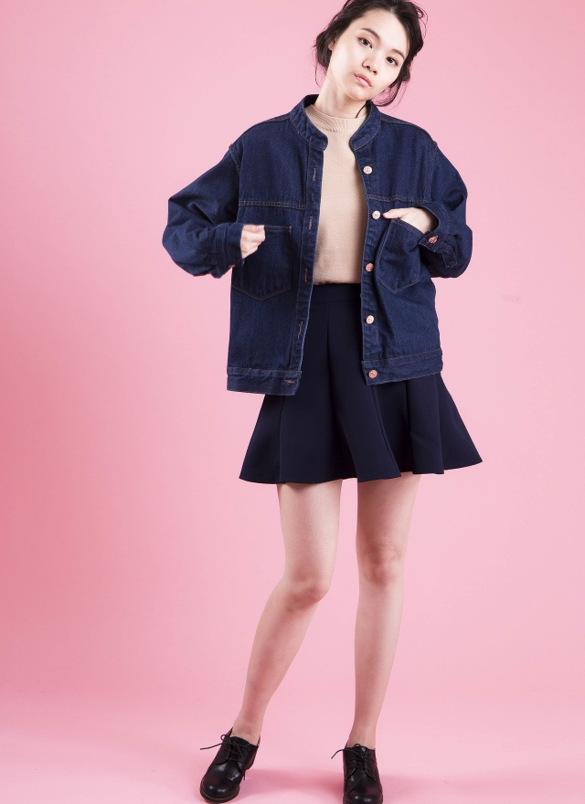 T0412 柔綿舒服針織上衣
