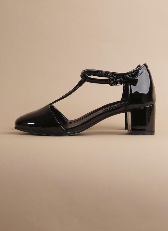 SH0046 漆皮瑪麗珍低跟鞋