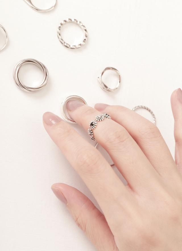 A0408森花造型戒指