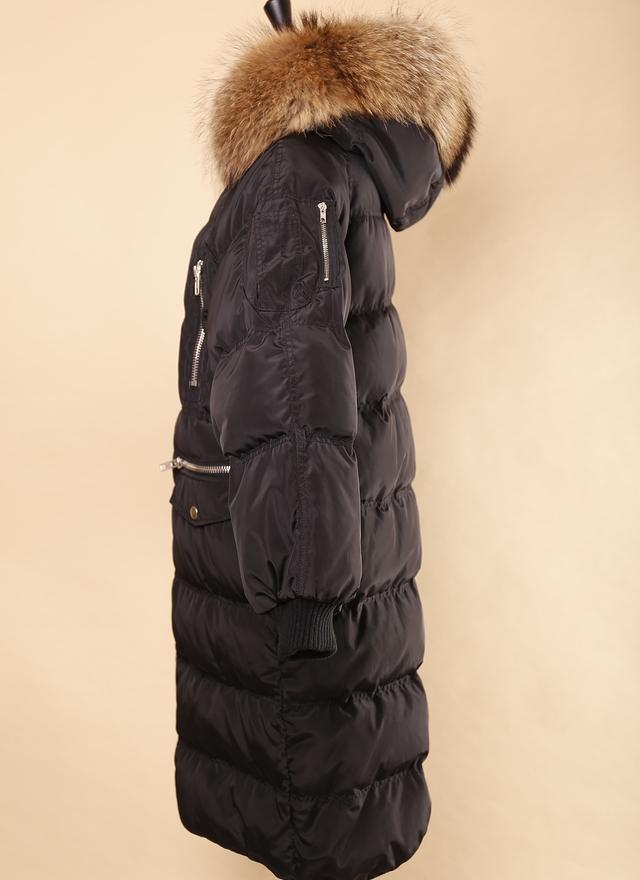 O0187 暖暖率性拉鍊羽絨外套