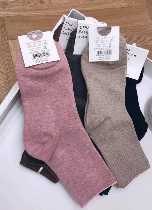 經典羅紋多彩長襪(多色)