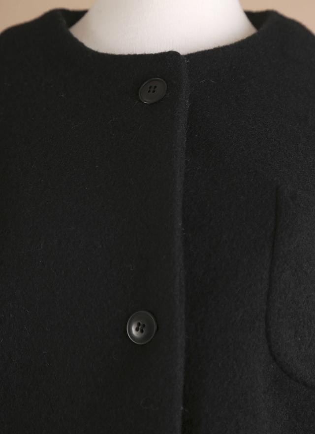 O0126 百搭素質毛料短外套
