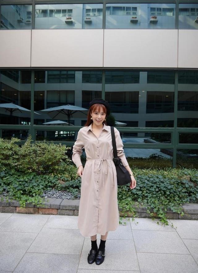 SP自然風尚襯衫洋裝