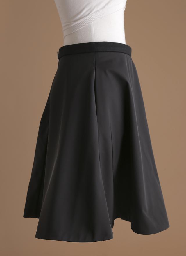 S0229 高雅柔光口袋圓裙