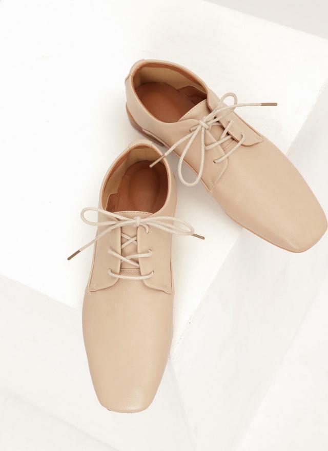 SH0226歐蕾綁帶牛津鞋(三色)