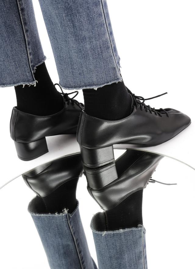 SH0221巴黎晨光綁帶牛津鞋(小羊皮)