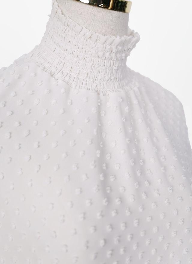 T0859 質感立體點狀上衣