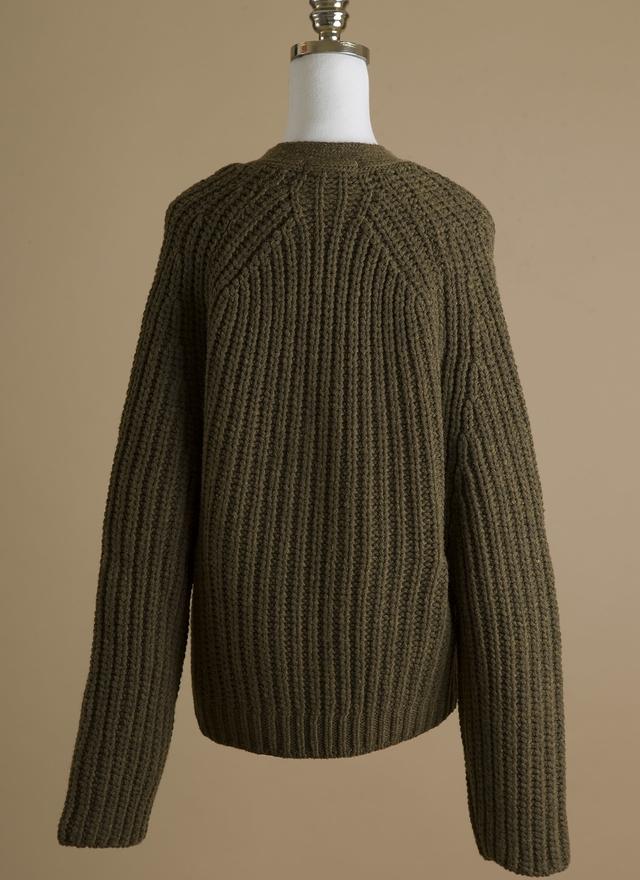 O0133 率性橄欖色短外套