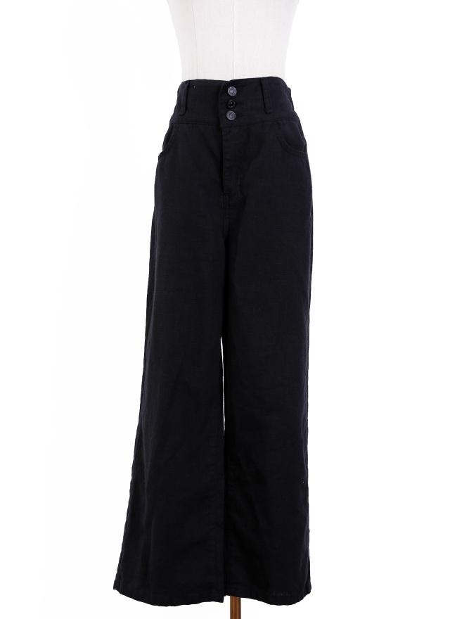 P0208 簡單俐落中腰直筒褲