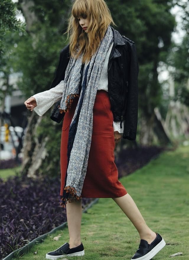 O0104 高質感菱格義大利小羊皮外套