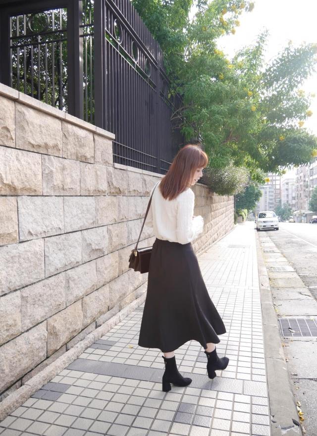 S0648優雅線條修身長裙(特惠)