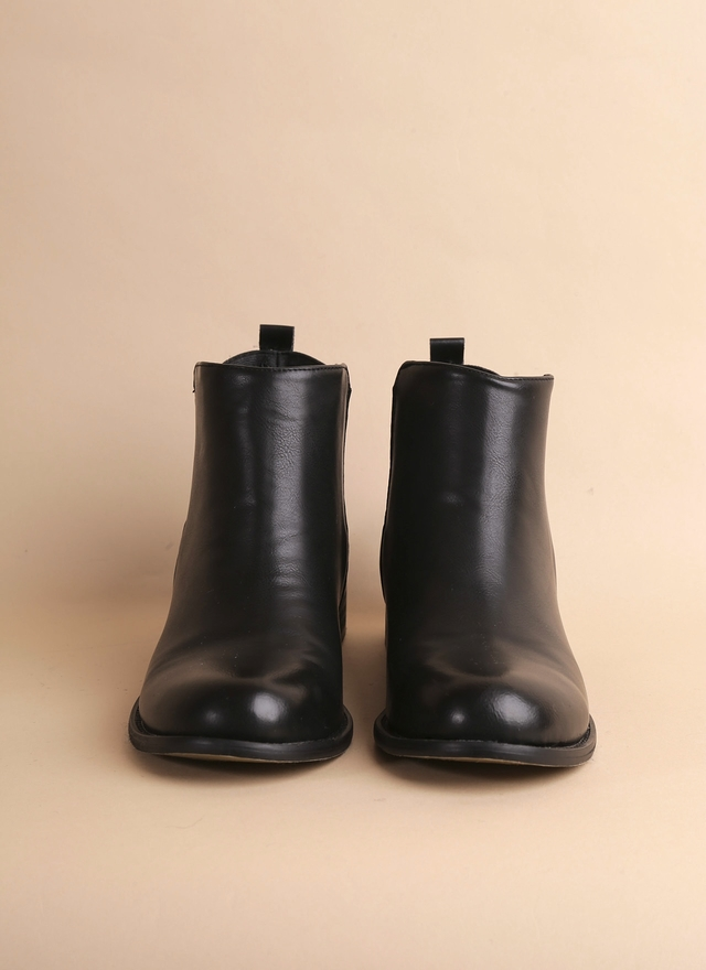 SH0045 百搭質感皮革短靴
