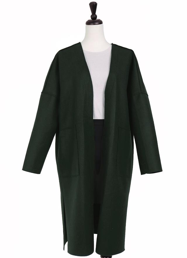 O0242 完美剪裁開襟外套